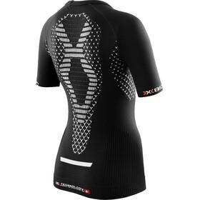 X-Bionic TWYCE Running Shirt Short Sleeves Women Black/White